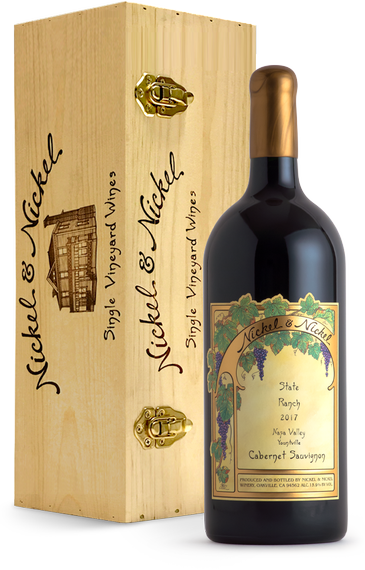 2017 Nickel & Nickel State Ranch Cabernet Sauvignon [3.0L], Yountville