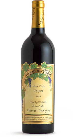 2017 Nickel & Nickel Vaca Vista Vineyard Cabernet Sauvignon, Oak Knoll District