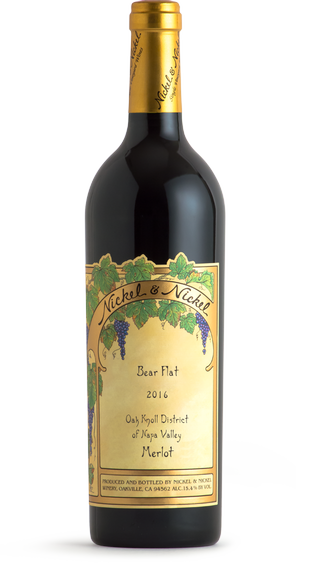 2016 Nickel & Nickel Bear Flat Merlot, Oak Knoll District, Napa Valley