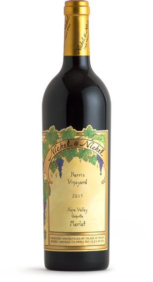 2015 Nickel & Nickel Harris Vineyard Merlot, Oakville, Napa Valley