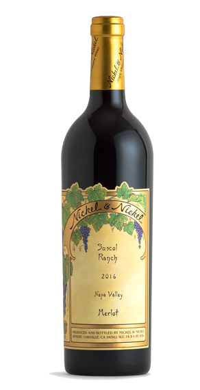 2016 Nickel & Nickel Suscol Ranch Merlot, Napa Valley