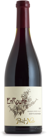 2015 EnRoute Marty's Vineyard Pinot Noir