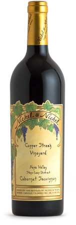 2015 Nickel & Nickel Copper Streak Vineyard Cabernet Sauvignon, Stags Leap District