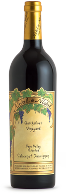 2015 Nickel & Nickel Quicksilver Vineyard Cabernet Sauvignon, Rutherford