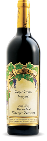 2011 Nickel & Nickel Copper Streak Vineyard Cabernet Sauvignon, Stags Leap District