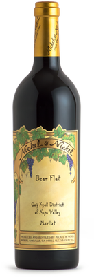2015 Nickel & Nickel Bear Flat Merlot, Oak Knoll District, Napa Valley Image