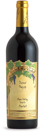 2015 Nickel & Nickel Suscol Ranch Merlot, Napa Valley